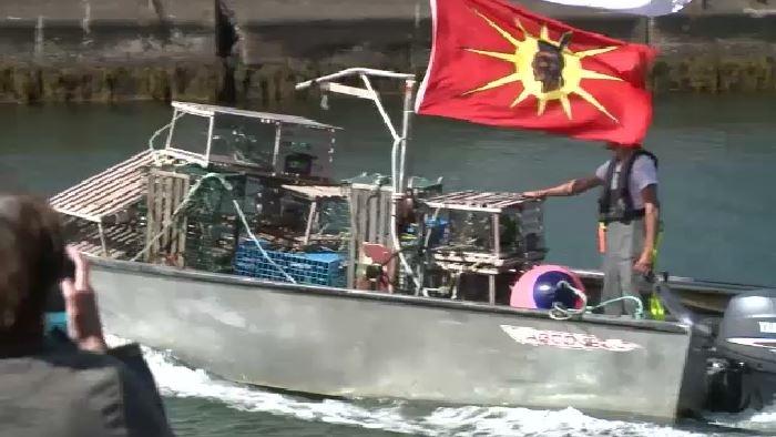 Mi'kmaw fisher