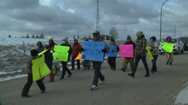 Sask. First nation show support in lobster dispute