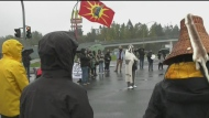 First Nations protests block highway near Victoria