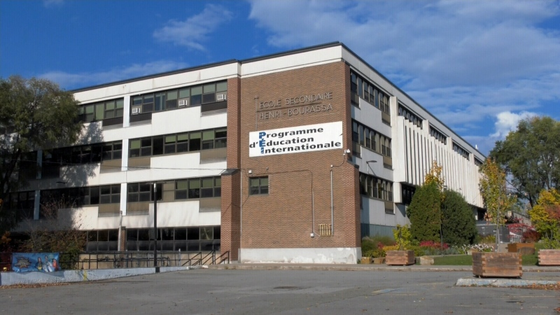 High school in Quebec
