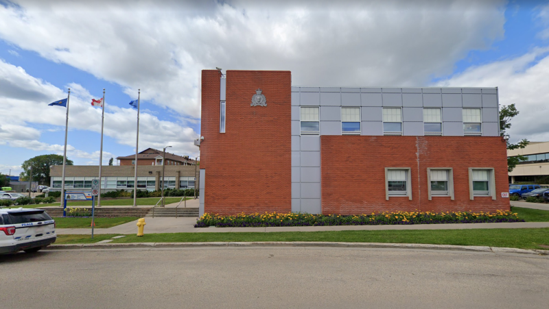 The Grande Prairie RCMP detachment. (Google Street View)
