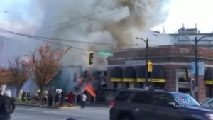 Main Street fire was deliberately set