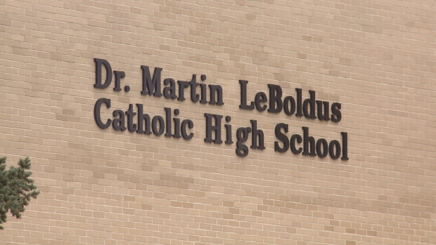 Dr. Martin Leboldus High School in Regina. (File image)