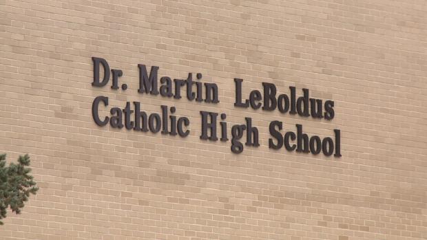 Dr. Martin Leboldus High School in Regina. (File image)