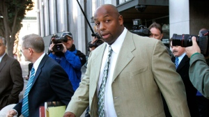 Dana Stubblefield was convicted of raping an intellectually disabled woman. (Jeff Chiu/AP)
