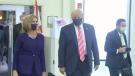 Donald Trump casts his ballot in Florida