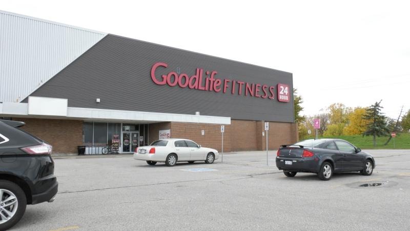 GoodLife Fitness at Tecumseh Mall in Windsor pictured Saturday, October 24, 2020. (Ricardo Veneza/CTV Windsor)