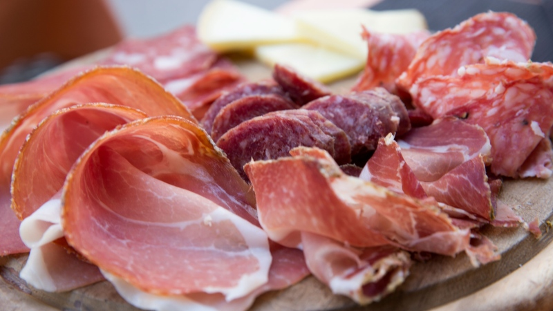Deli meat can be seen in this image. (Margarita Almpanezou/Getty Images)