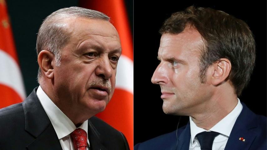 Macron and Erdogan