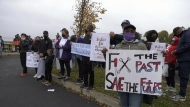 Rally for Africville reparations
