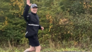 Matt Sabinski of Eastern Passage, N.S. ran 100 km in 24 hours this weekend.