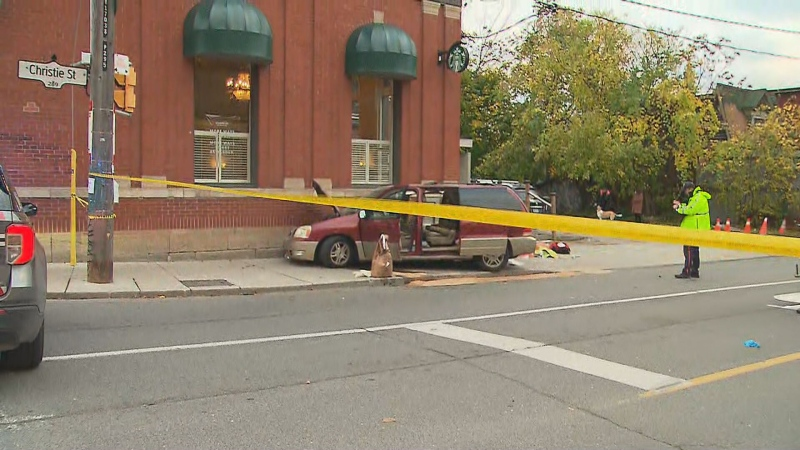 Police are investigating a fatal crash near Dupont and Christie.
