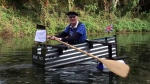 Army veteran Major Mick starts 160 kilometre row to fundraise for St. Wilfrid's Hospice.
