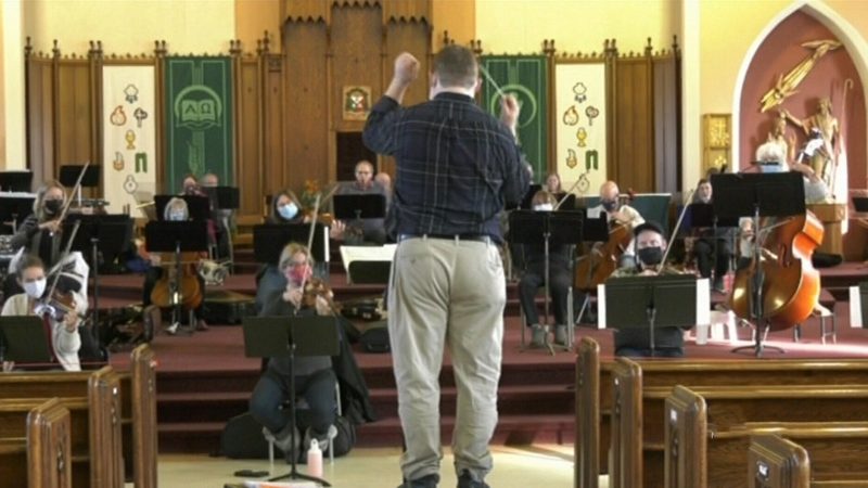 Virtual symphony raises curtain in Timmins