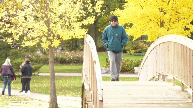 New record high in K-W may be last warm blast until next spring