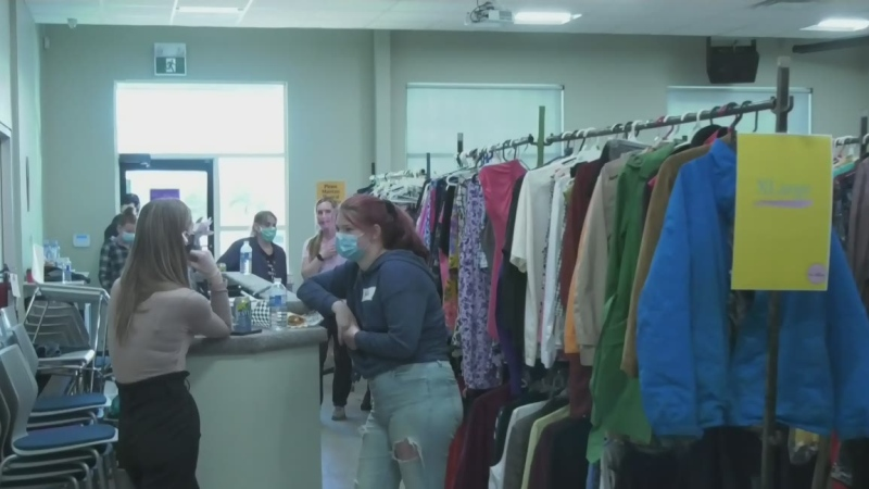 As the winter season fast approaches, a Barrie realtor and Our Village founder is helping women and children stay warm with a free clothing market.