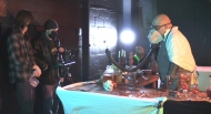 A new film being produced in North Bay tells the Frankenstein tale in a new way (Eric Taschner/CTV Northern Ontario)