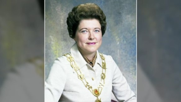 An undated photo of Marjorie Carroll, the former mayor of Waterloo, Ont.