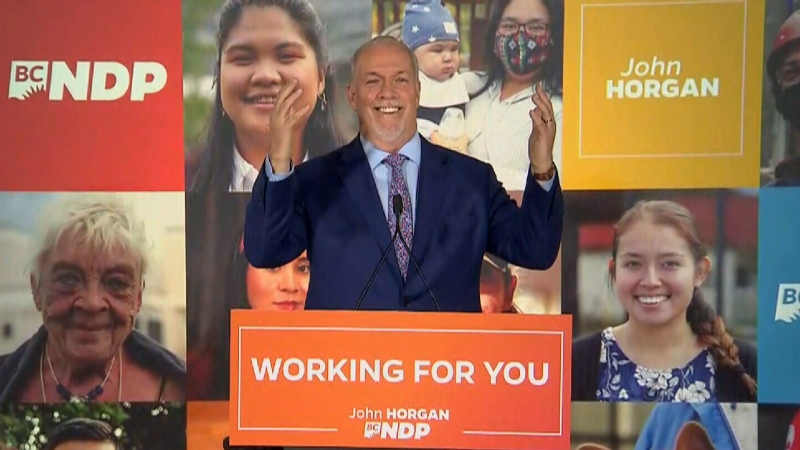 Watch Horgan's victory speech
