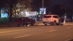 The Special Investigations Unit is investigating after a collision between a vehicle under investigation by Toronto police and another vehicle in Markham Saturday night.