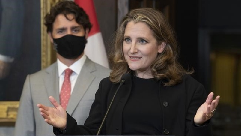 trudeau and freeland