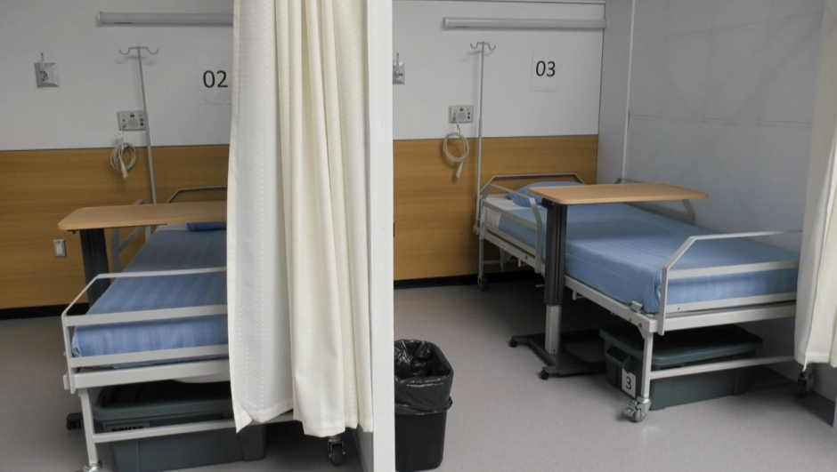 Sprung Structures donated the tent and Alberta Health Services invested $3 million into it earlier this year. However, since that time, the Sprung Pandemic Response facility never treated a patient for COVID-19.