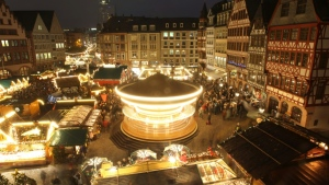 Lights out for Frankfurt's popular Christmas market this year. (AFP)