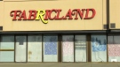 Fabricland closed its west Edmonton store Sunday, after a staff member tested positive for COVID-19.