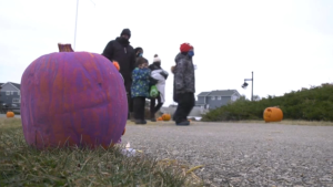 The Griesbach Pumpkin Walk was held Oct. 24, 2020.