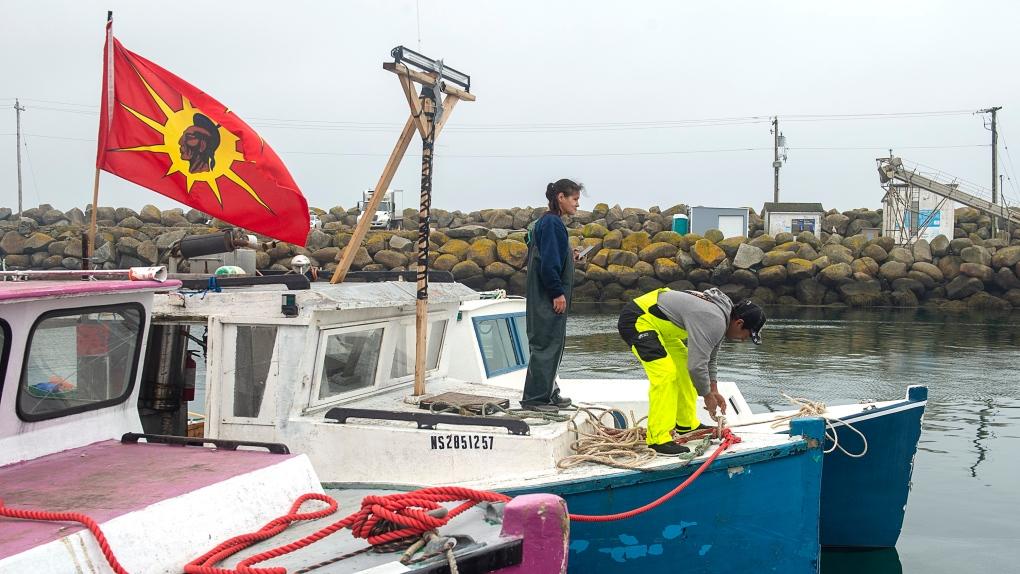 Indigenous fishermen