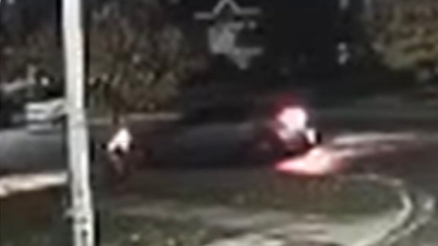 Barrie Police searching for a vehicle wanted in a fail to remain