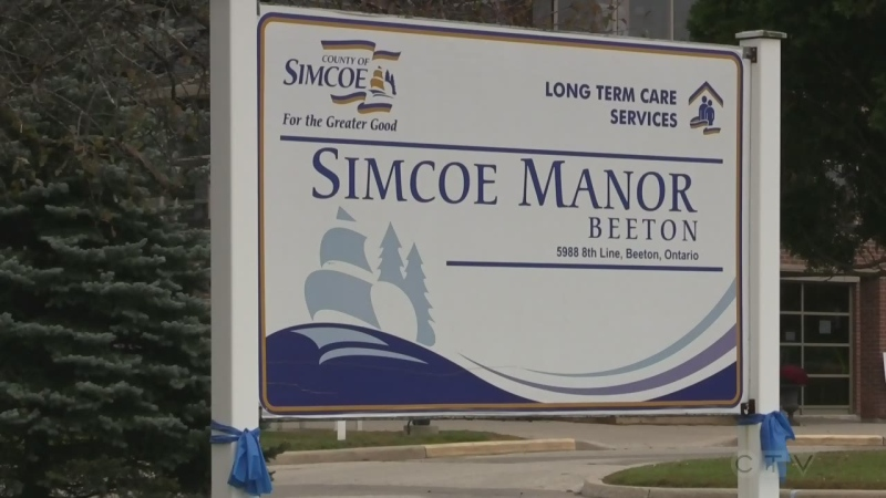 Nine residents have died at Simcoe Manor