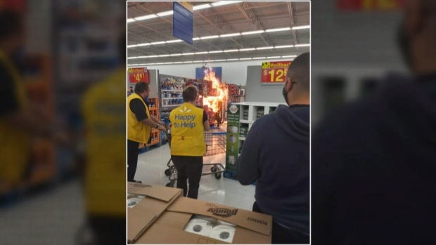 Investigation continues into arson fires at Walmarts