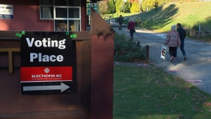 Accusations of racism at polling station