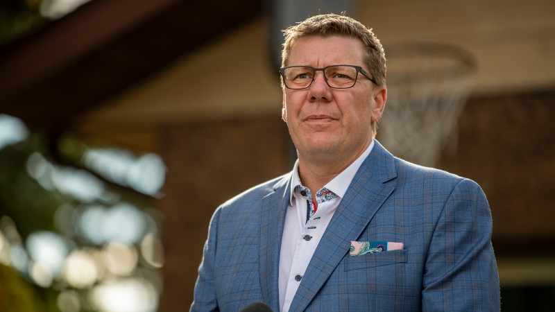 Scott Moe seeks re-election in Sask. election on Monday