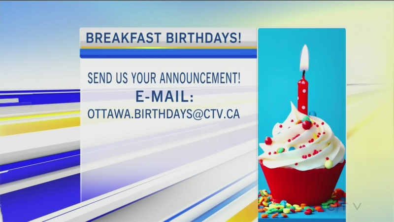 CTV Morning Live Birthdays Oct 26