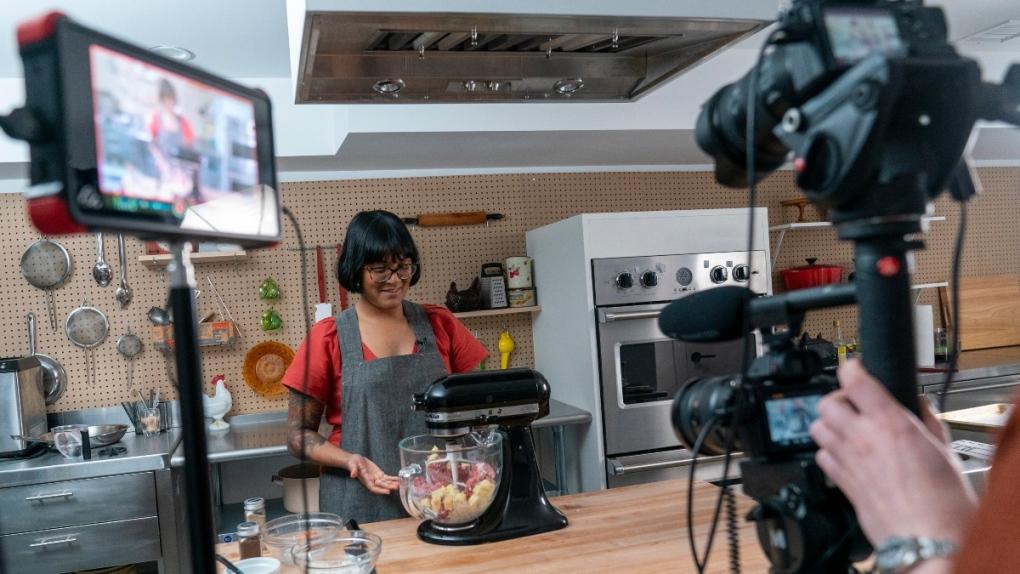 Chef Sohla El-Waylly prepares Swedish meatballs