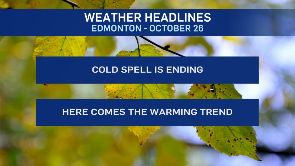 Oct. 26 weather headlines
