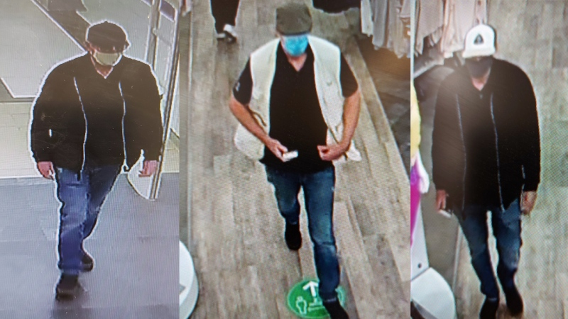 Police said they're looking to speak with this person after thousands-worth of electronics were stolen from a Guelph store. (Source: Guelph Police Service)