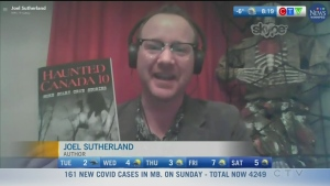 A sneak peek of the new Haunted Canada book