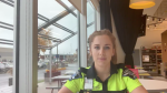 Paramedic Rachelle Aubichon shares her experience with COVID-19's lasting symptoms / Courtesy of Urgences-Sante
