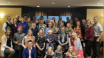 A photo of people gathered at a Niagara region banquet hall was posted by Niagara MPP Sam Oosterhoff over the weekend.