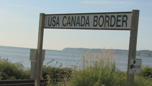 U.S. border town of Point Roberts, WA