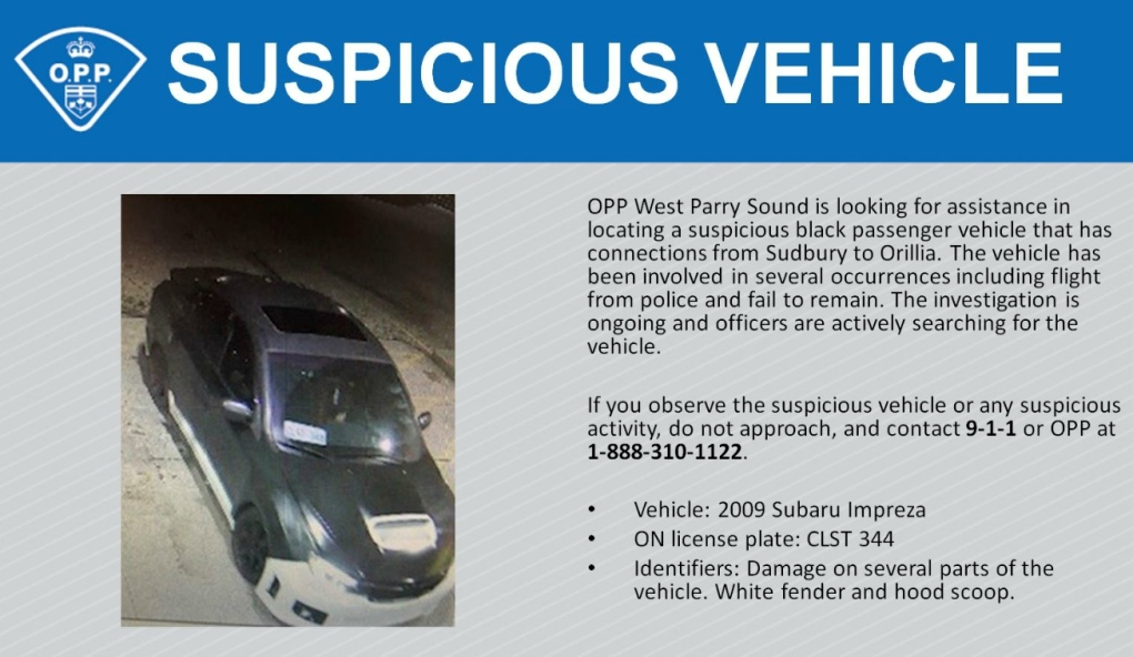 Suspicious vehicle