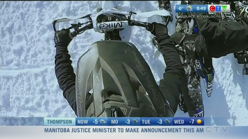 New doc on Manitoba man taking on extreme sports