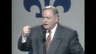 Jacques Parizeau's infamous speech