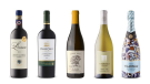 Lornano Chianti Classico 2015, Pérez Cruz Limited Edition Carmenère 2017, Speck Bros. The Goat Lady Chardonnay 2019, Seven Falls Cellars Chardonnay 2016, Vilarnau Barcelona Brut Reserva Cava