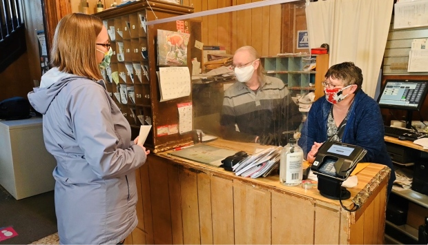 Last Post: An 'at home' post office closes in the hamlet of Edwards, Ont., sealing a chapter on 110 years of family service