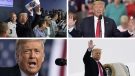 Ten stunning moments from Trump presidency