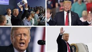 Ten stunning moments from Trump presidency